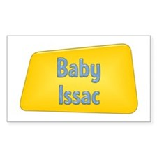 Baby Issac Rectangle Decal