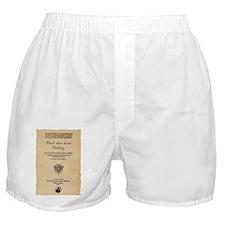 Much_Ado_Quarto-poster-tshirt Boxer Shorts