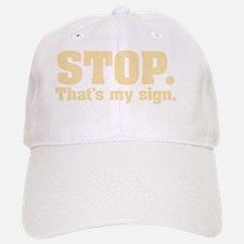stop-sign10X10 Baseball Baseball Cap