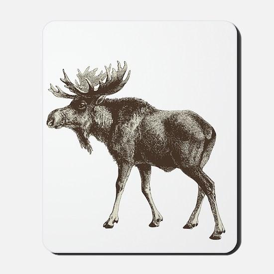 Moose-is-Loose-whtie Mousepad