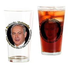Netanyahu_6X6 Drinking Glass