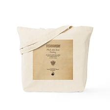 Much_Ado_Quarto-poster-Ornament Tote Bag