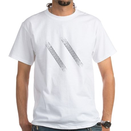 sidewalkDrk White T-Shirt