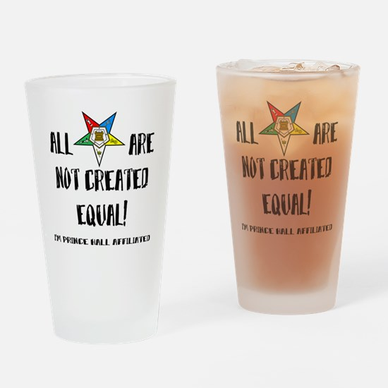 starsnotcreatedequal2 Drinking Glass
