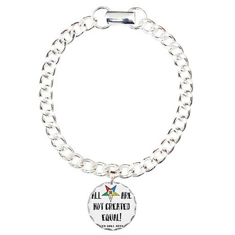 starsnotcreatedequal2 Charm Bracelet, One Charm