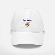 Happy Hanukkah with dreidel Baseball Baseball Baseball Cap