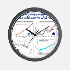 weatherman Wall Clock