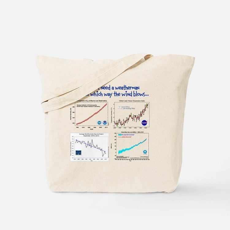 weatherman Tote Bag
