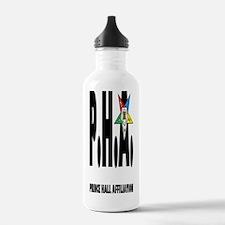PHA-w-star2-journal Water Bottle
