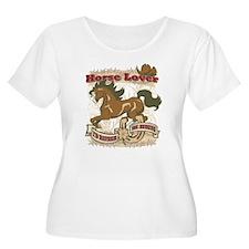 Horse Lover Plus Size T-Shirt