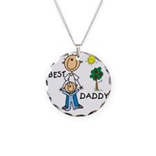 Best Daddy Stick Figures Necklace