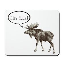 Nice-Rack-Moose Mousepad