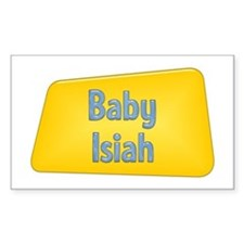 Baby Isiah Rectangle Decal