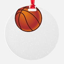 Basketball Court White Ornament