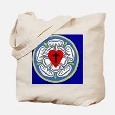 Luther Seal 2 License Plate Tote Bag