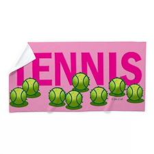 Tennis (f) Beach Towel