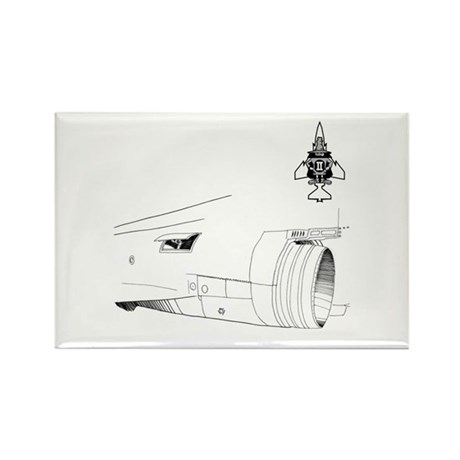 Phantom II's Engin Rectangle Magnet