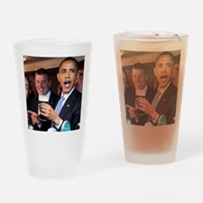 ART obama ireland toast 2 Drinking Glass