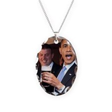 ART obama ireland toast 2 Necklace