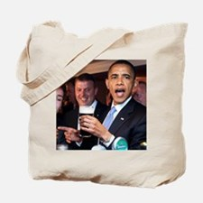 ART obama ireland toast 2 Tote Bag