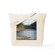 Apline Lake in Bitterroot Mountains Tote Bag