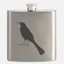 Grains are for the Birds Flask