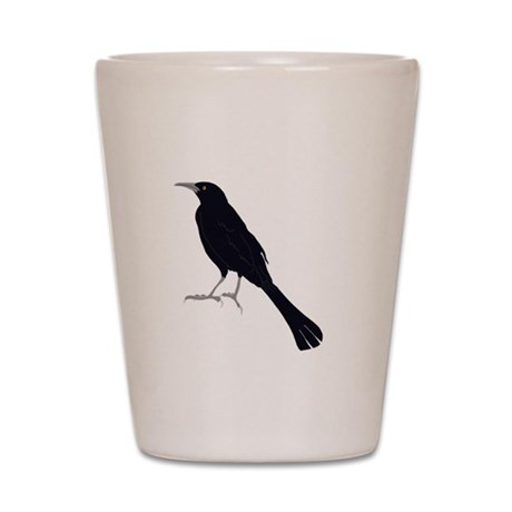 Grains are for the Birds Shot Glass