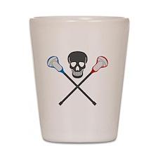 lacrossesticksafe Shot Glass