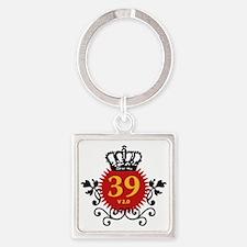 39 Version 2.0 Square Keychain