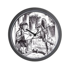 Fish-Footman Wall Clock