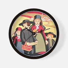 Amish Wall Clock