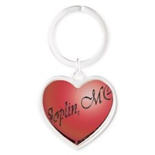 joplin6 Heart Keychain