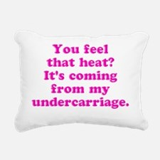 undercarriage Rectangular Canvas Pillow
