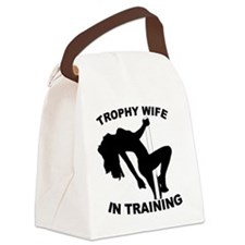Trophy Wife Canvas Lunch Bag