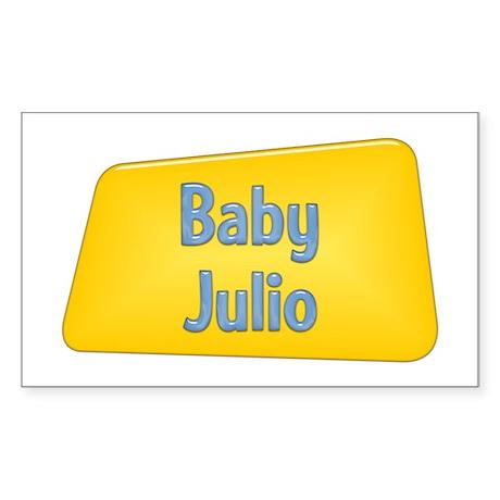 Baby Julio Rectangle Sticker