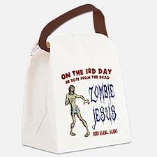 zombie-jesus-LTT Canvas Lunch Bag