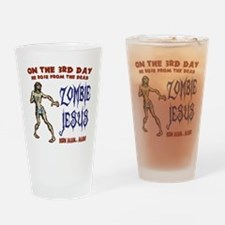 zombie-jesus-LTT Drinking Glass