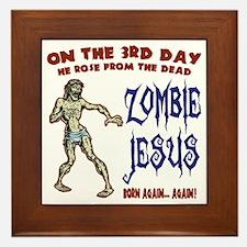 zombie-jesus-LTT Framed Tile