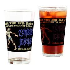 zombie-jesus-TIL Drinking Glass