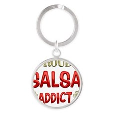 SALSA Round Keychain