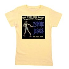 zombie-jesus-BUT Girl's Tee