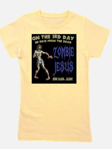 zombie-jesus-BUT Girl's Tee