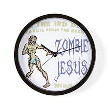 zombie-jesus-DKT Wall Clock