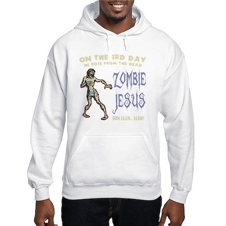 zombie-jesus-DKT Hooded Sweatshirt