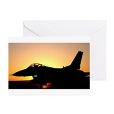 F-16 Fighting Falcon Greeting Cards (6)