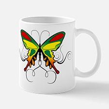 Reggae Butterlfy 6x6 Mug