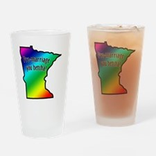 pro_marriage_you_betcha_mn Drinking Glass