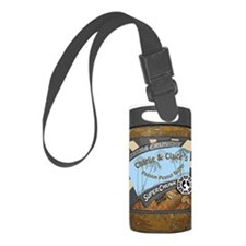 Charlies peanut butter Luggage Tag