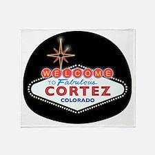 CORTEZ LIGHT Throw Blanket