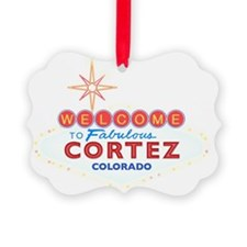 CORTEZ DARK Ornament